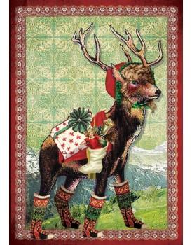 postkaart Kaartje of kip kerst 12