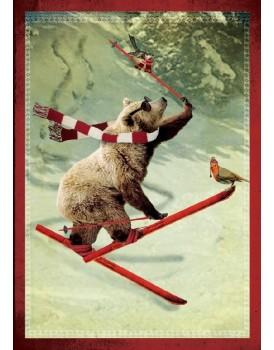 postkaart Kaartje of kip kerst 15