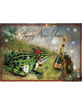 postkaart Kaartje of kip kerst 5