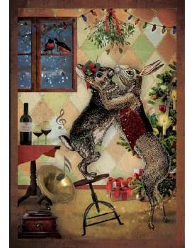postkaart Kaartje of kip kerst 7