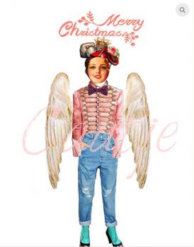 postkaart Caatje kerst 3
