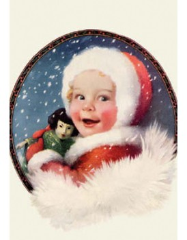 postkaart kerst 13