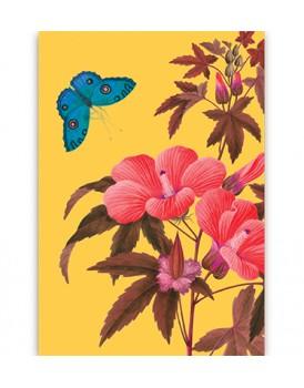 Postkaart flora 12