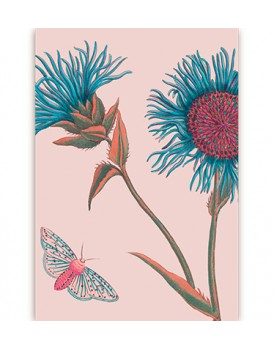 Postkaart flora 18