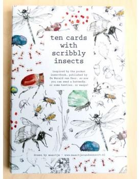 Maartje van den Noort set 10 insecten
