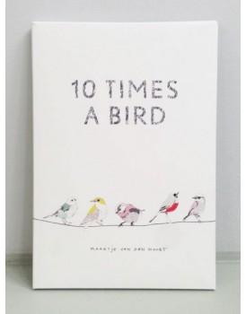 Maartje van den Noort set 10 vogelkaarten