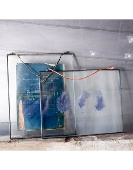 Nkuku dubbelglas fotolijst hang zink XL
