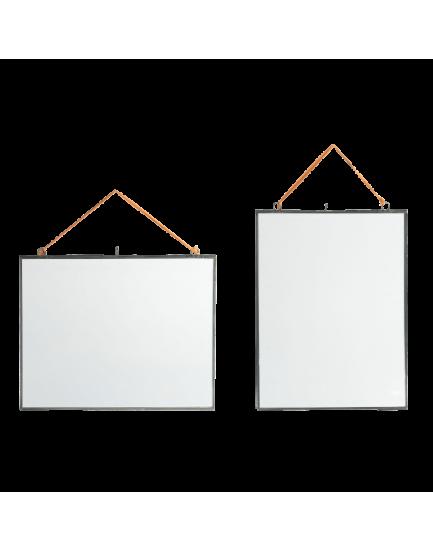Nkuku dubbelglas fotolijst hang zink S