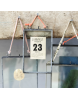 Nkuku dubbelglas fotolijst hang zink M