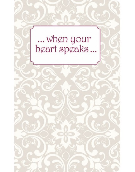 Notebook When your hart speaks