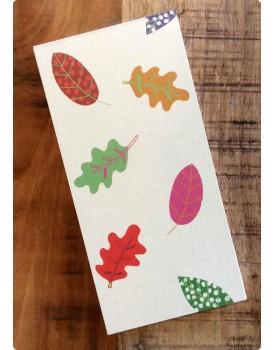 Organic boodschappenlijstje bladeren
