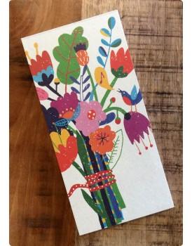 Organic boodschappenlijstje bloemen