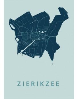 Stadskaart Zierikzee A4