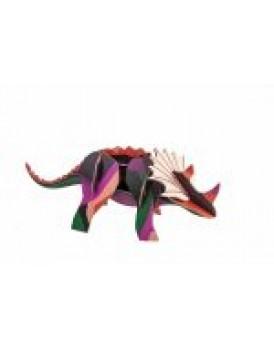 Studio Roof  totem triceratops
