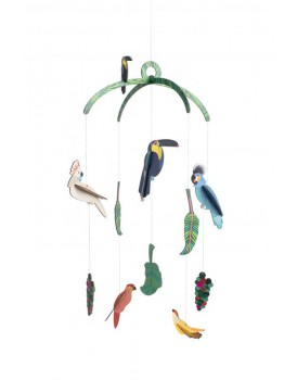 Studio Roof  exotic birds mobile