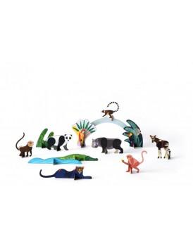 Studio Roof jungle animals