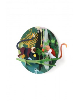 Studio Roof  wall deco jungle monkeys