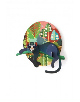 Studio Roof  wall deco jungle puma