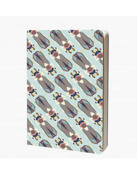 Studio Roof Notebook A6 Beetles