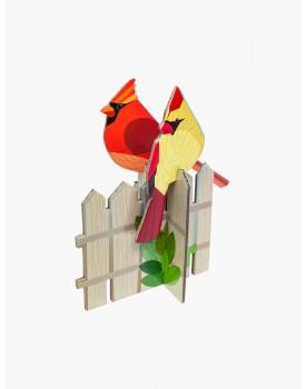 Studio Roof pop out kaart kardinalen