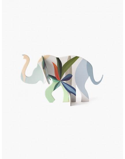 Studio Roof pop out kaart olifantje