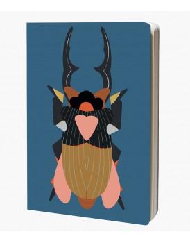 Studio Roof Sketchbook A4 Giant Stag Beetle