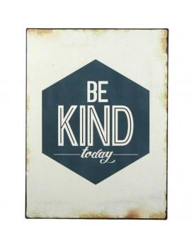 Tekstbord be kind