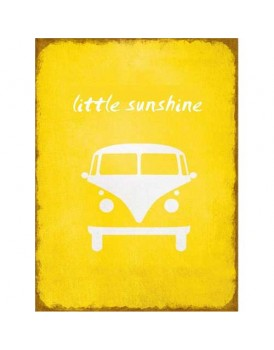 Tekstbord little sunshine