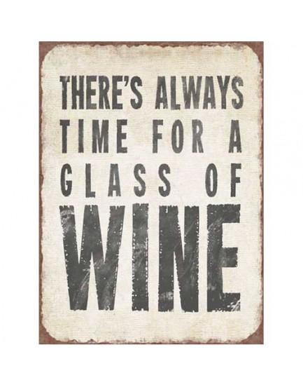Tekstbord wine