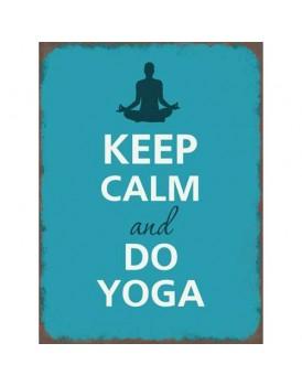 Tekstbord yoga