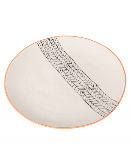 Tranquillo aardewerk bord Marga