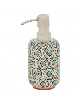 Tranquillo aardewerk zeepdispenser Matthes