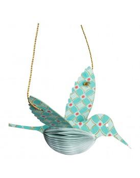 Tranquillo papieren kolibri turquoise