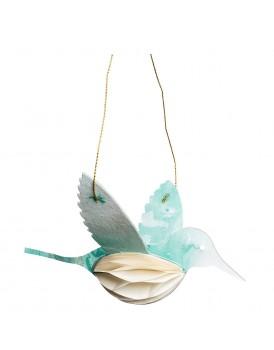 Tranquillo papieren vogel blauw
