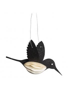 Tranquillo papieren vogel zwart