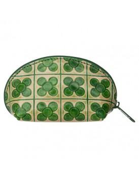 Tranquillo leder portemonnaie groen