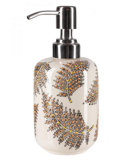 Tranquillo aardewerk zeepdispenser Floral