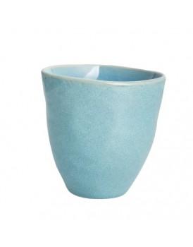 UNC  aardewerk beker ocean blue