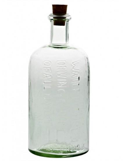 UNC  glazen fles deco